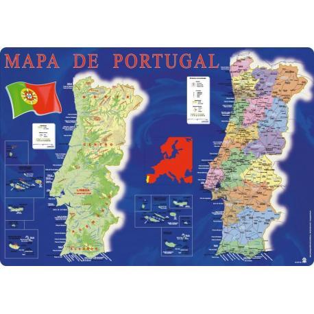 Bases de Secretária Mapa Portugal