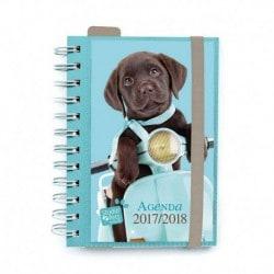Agenda Escolar 2017/2018 Dia Pagina Studio Pets Dog