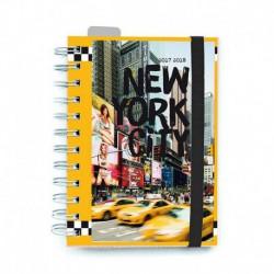 Agenda Escolar 2017/2018 Dia Pagina Nueva York