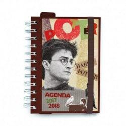 Agenda Escolar 2017/2018 Dia Pagina Harry Potter
