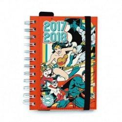 Agenda Escolar 2017/2018 Dia Pagina Dc Comic Originals