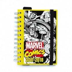 Agenda Escolar 2017/2018 Dia Pagina Marvel Comics