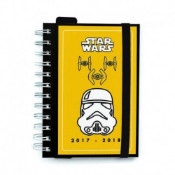 Agenda Escolar 2017/2018 Dia Pagina Star Wars Trooper
