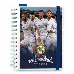 Agenda Escolar 2017/2018 Semana Vista Real Madrid Jugadores