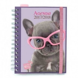 Agenda Escolar 2017/2018 Semana Vista Studio Pets Dog