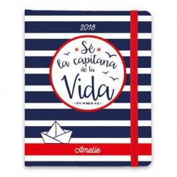 Agenda 2018 Semana Vista Premium Amelie Marinero