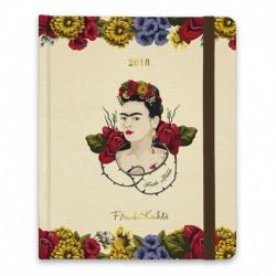 Agenda 2018 Semana Vista Premium Frida Kahlo