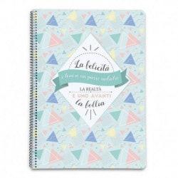 Cuaderno Tapa Dura A4 Amelie (en Italiano)