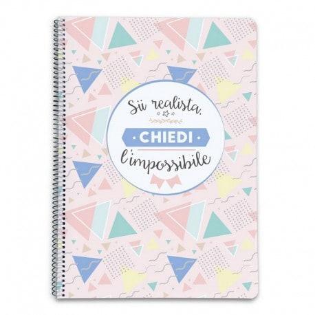 Cuaderno Tapa Dura A5 Amelie (en Italiano)