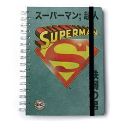 Cuaderno A5 Premium Dc Comics Classic