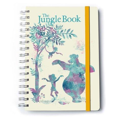 Cuaderno A5 Premium El Libro De La Selva