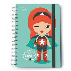 Cuaderno A5 Premium Lil´Ledy