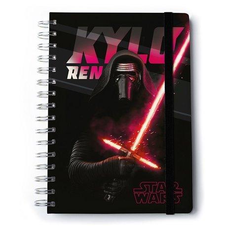 Cuaderno A5 Premium Star Wars Kylo Ren