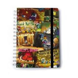 Cuaderno Tapa Dura A5 C. Premium Hora De Aventura