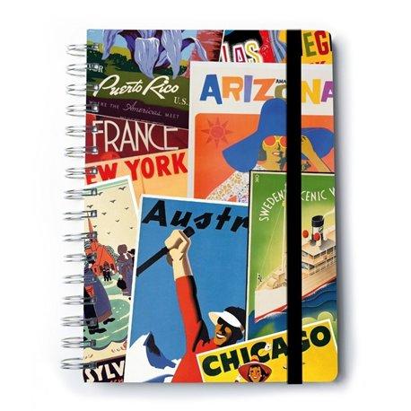 Cuaderno Tapa Dura A5 C. Premium Travel