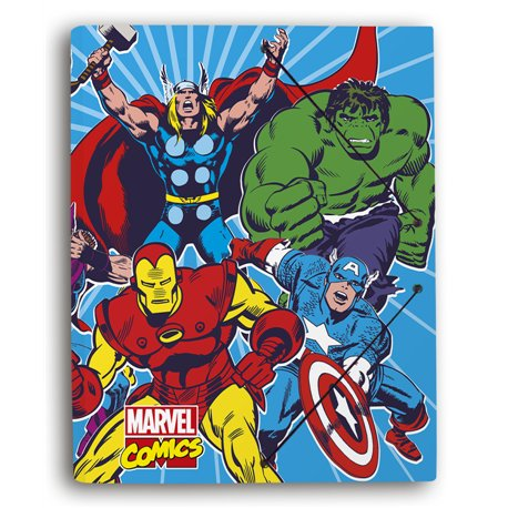 Carpeta gomas A4 polipropileno Marvel Comics