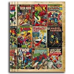 Carpeta Gomas C. Premium Marvel
