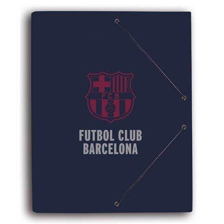 Carpeta Gomas con solapa F.C. Barcelona