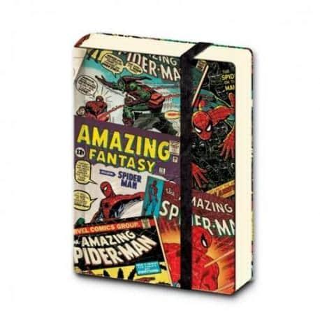 Cuaderno A7 Marvel