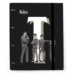 Carpeta 4 Anillas troquelada The Beatles