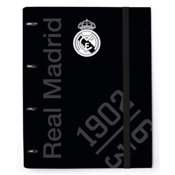 Carpeta anillas troquelada Premium Real Madrid
