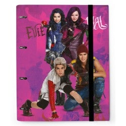Carpeblock 4 Anillas Premium Disney Descendants