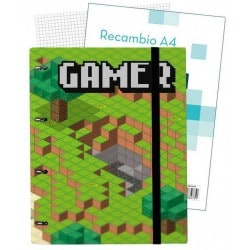 Carpeblock 4 Anillas Premium Gamer