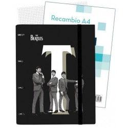 Carpeblock 4 Anillas Premium The Beatles