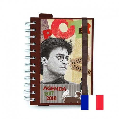 Agenda Escolar 2017/2018 Harry Potter (en Frances)