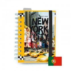 Agenda Escolar 2017/2018 New York (en Portugues)
