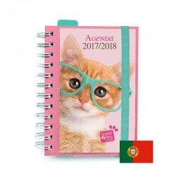 Agenda Escolar 2017/2018 Studio Pets Cat (en Portugues)