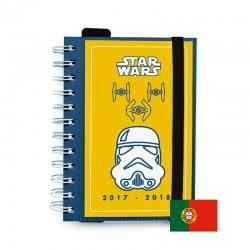 Agenda Escolar 2017/2018 Star Wars (en Portugues)