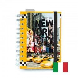Agenda Escolar 2017/2018 New York (en Italiano)