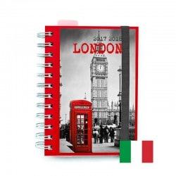 Agenda Escolar 2017/2018 London (en Italiano)