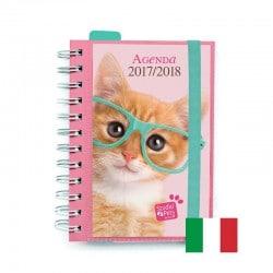 Agenda Escolar 2017/2018 Studio Pets Cat (en Italiano)