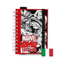 Agenda Escolar 2017/2018 Marvel Comics (en Italiano)