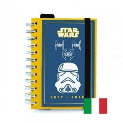 Agenda Escolar 2017/2018 Star Wars Trooper (en Italiano)