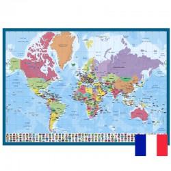 Vade Escolar Carte Du Monde (Frances)