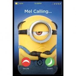 Maxi Poster Minions 3 Mel Calling
