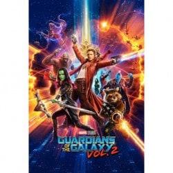 Maxi Poster Guardianes de la Galaxia Vol. 2 One Sheet