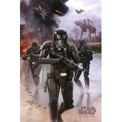 Maxi Poster Star Wars Rogue One Death Trooper Beach