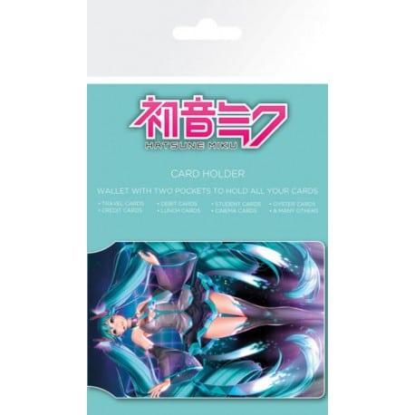 Tarjetero Hatsune Miku
