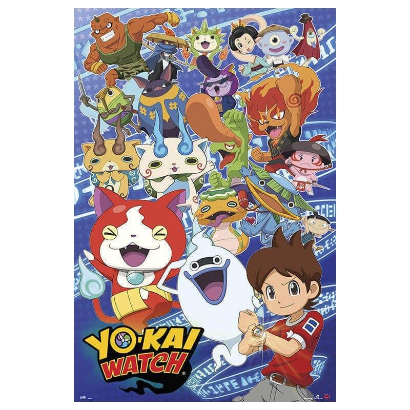 Poster Yo-Kai Watch - Nosoloposters.com
