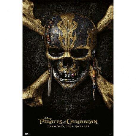 Poster Piratas del Caribe La Venganza de Salazar