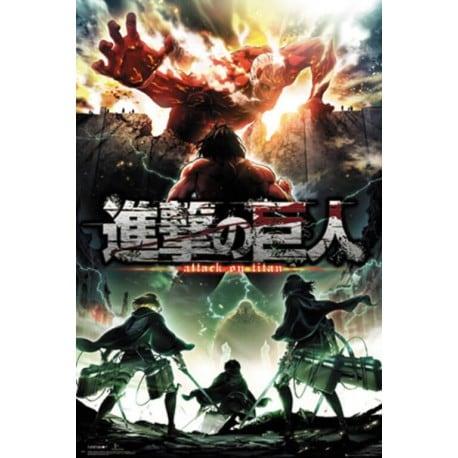 Poster Attack On Titan Temporada 2 Key Art