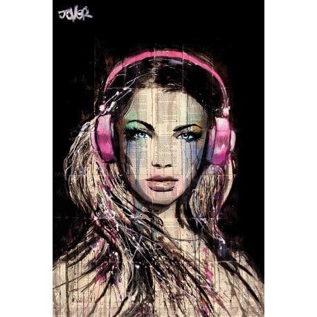 Poster Loui Jover Dj Girl