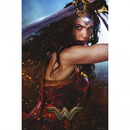 Poster Wonder Woman Sword