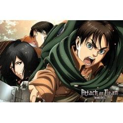 Poster Ataque de Titanes Temporada 2 Scouts