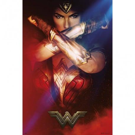Poster Mujer Maravilla Brazalete