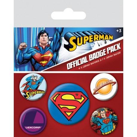 Pack de Chapas Superman